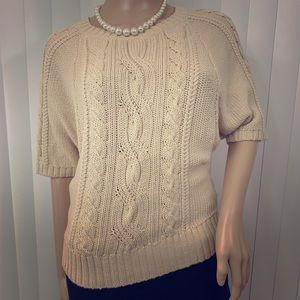 Loft Ann Taylor S Cropped Sweater Career Chic